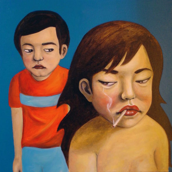 youn cho korean artist nice artworks painting oil on canvas
