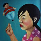youn cho korean artist nice artworks painting oil on canvas