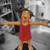 youn cho korean artist nice artworks resin painting on resin sculpture